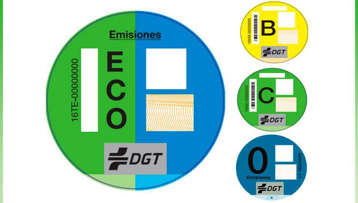 Como y donde conseguir pegatina dgt distintivo medioambiental