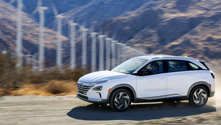 Hyundai Nexo hidrogeno