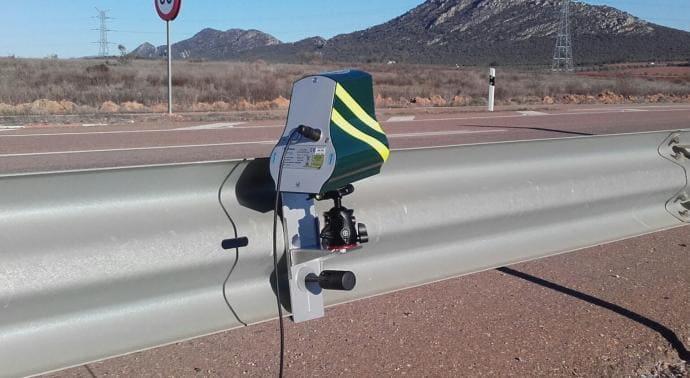 La DGT está de estreno: nuevo radar Velolaser