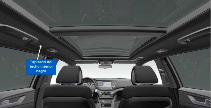Hyundai Tucson serie especial Go! techo solar