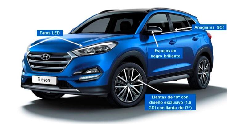 Hyundai Tucson serie especial Go!