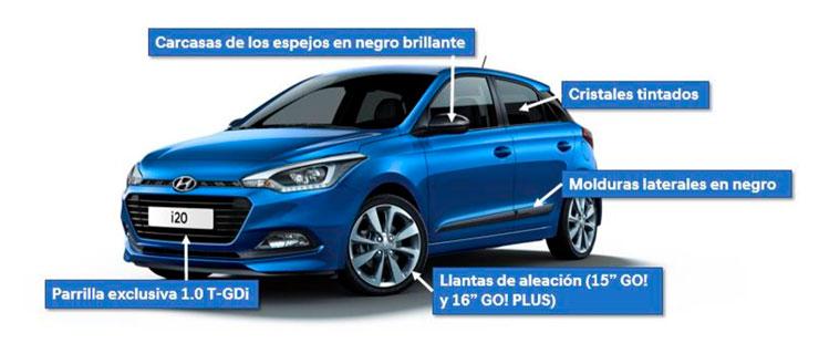 Hyundai i20 serie especial Go!