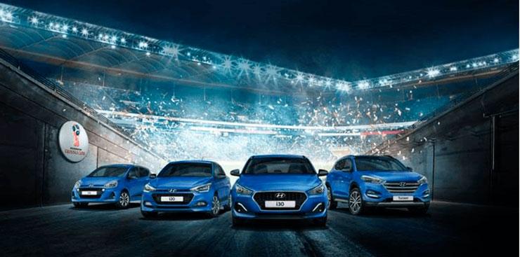 Hyundai serie especial Go! Mundial futbol Rusia