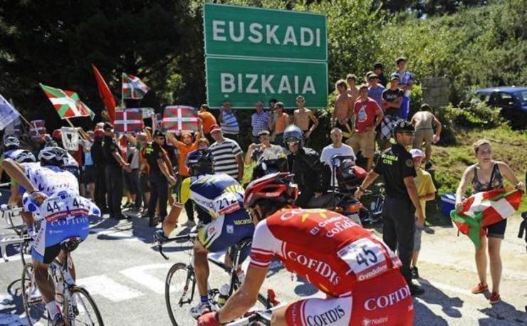 La Vuelta ciclista vuelve a Bizkaia