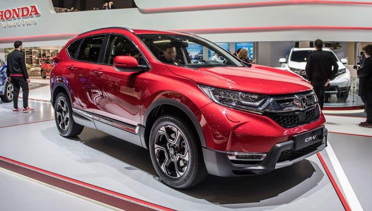 Novedades Salón de Ginebra Honda CR-V 2018 2