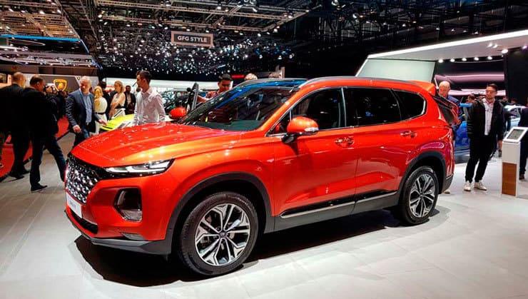 Novedades Salón de Ginebra Hyundai Santa Fe 2018
