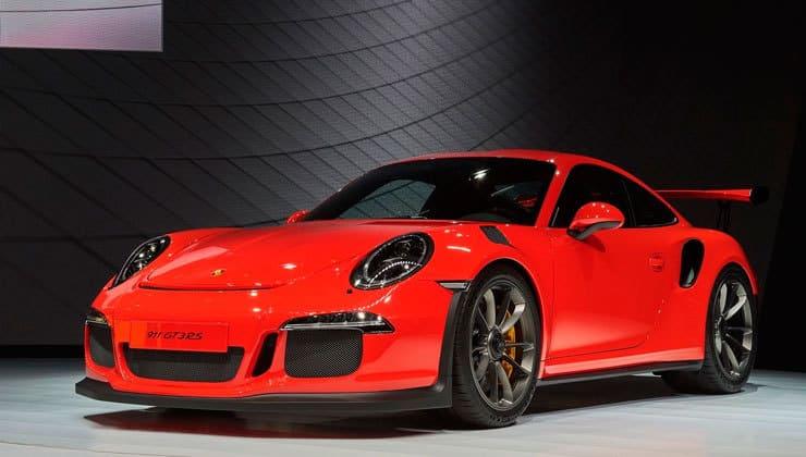Novedades Salón de Ginebra Porsche 911 gt3 rs