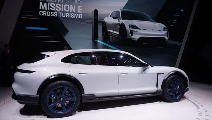 Novedades Salón de Ginebra Porsche Mission e-cross-turismo