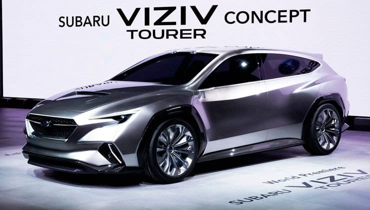 Novedades Salón de Ginebra Subaru Viziv Tourer concept