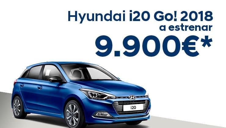 Hyundai i20 Go! 2018 a un precio excepcional