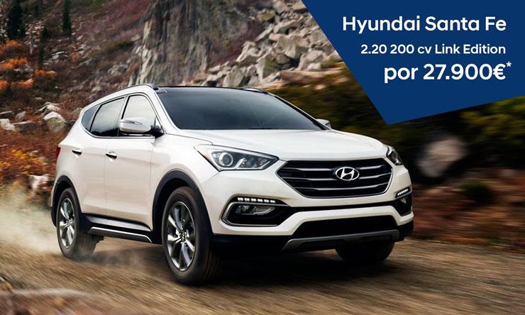Hyundai Santa Fe por 27900 euros