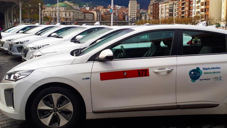 Ayudas del Ayuntamiento de Bilbao para Taxis Eléctricos