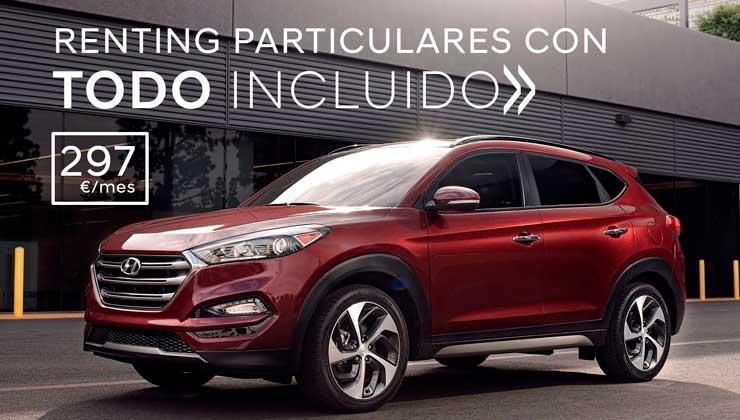 Oferta Hyundai Renting para Particulares Hyundai Tucson
