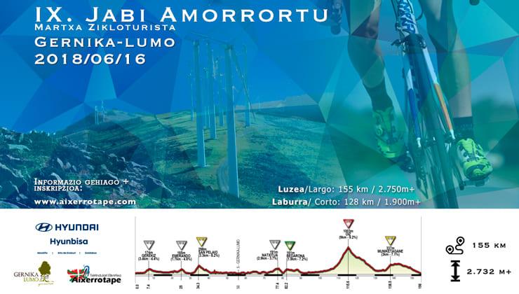 Marcha cicloturista Jabi Amorrortu