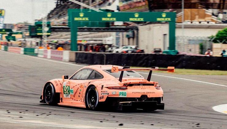 Doblete de Porsche en las 24 horas de Le Mans
