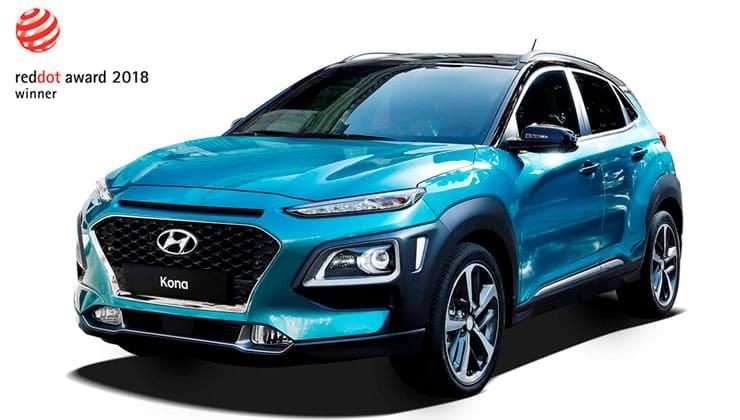 Hyundai Kona Reddot