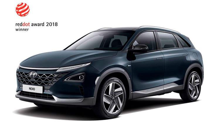 Hyundai Nexo Reddot