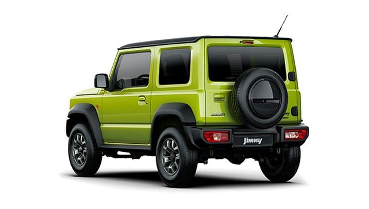 Nuevo Suzuki Jimny trasera