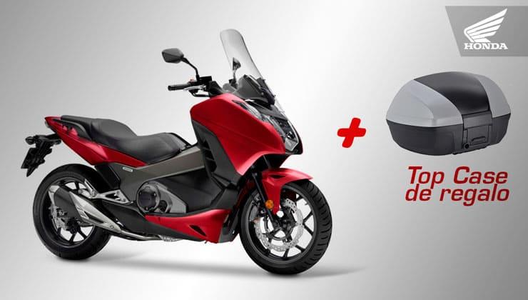 Oferta Honda Integra 750 Rojo top case regalo