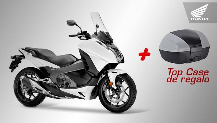 Oferta Honda Integra 750 top case regalo