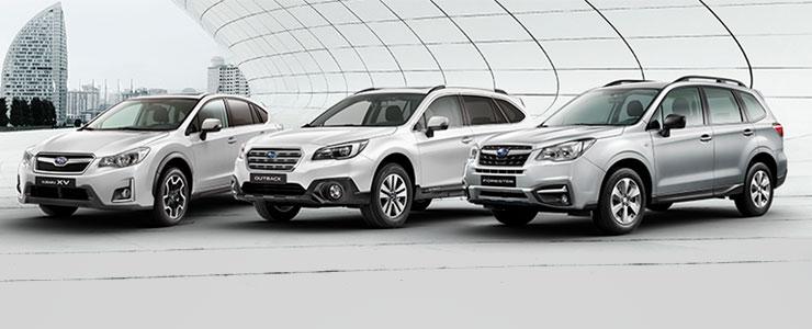 Oferta Subaru SUV Diesel con 6.000€ de descuento directo