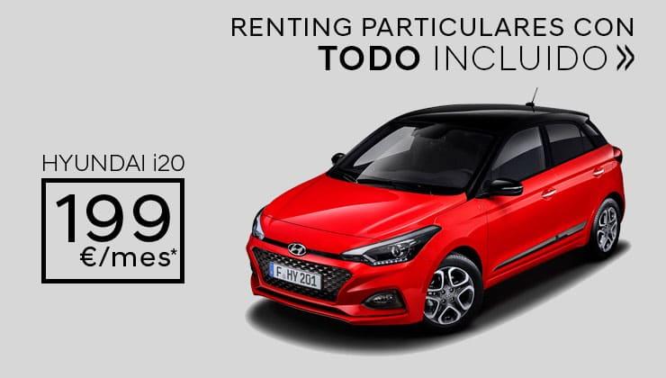 Oferta Renting Particulares Hyundai i20