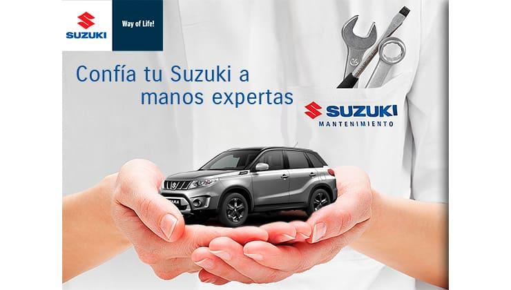 Servicio oficial postventa Suzuki Bizkaia