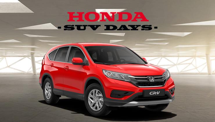 Oferta Honda SUV Days Bizkaia CR-V