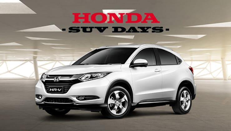 Oferta Honda SUV Days Bizkaia HR-V