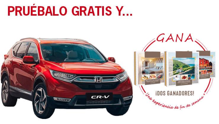 Nuevo Honda CR-V 2019, ¡Pruébalo y Gana un fin de semana!