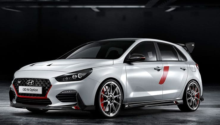 Hyundai i30 N Option Paris Motor Show 2018 frontal