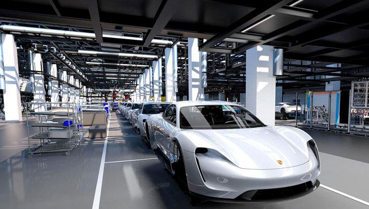 Porsche Taycan comienza a producirse