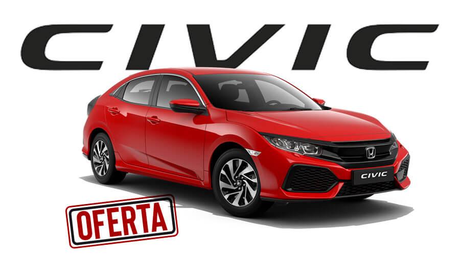 Oferta Comprar Honda Civic por 115€/mes