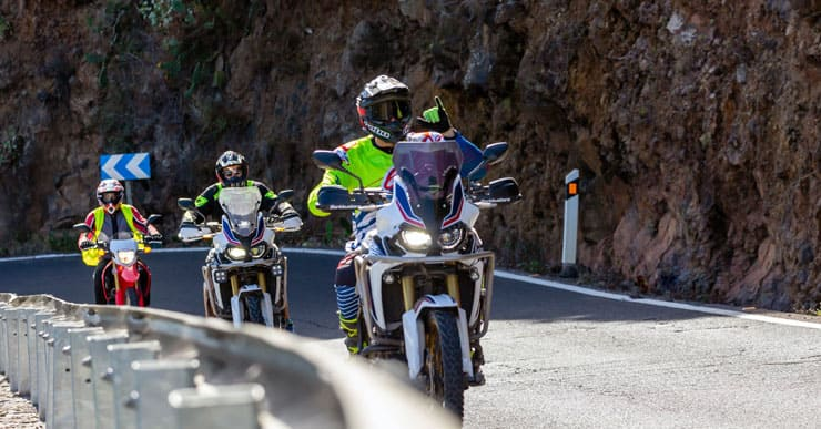 Rutas Motos Honda Ortasa Bizkaia