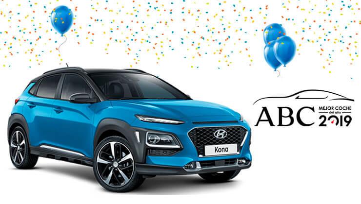 Hyundai Kona mejor coche del año 2019
