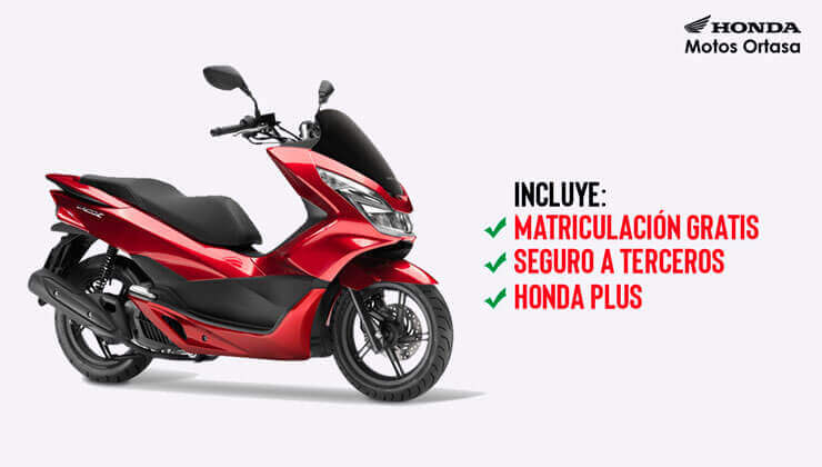 Oferta Honda PCX 125 mejor precio Bilbao