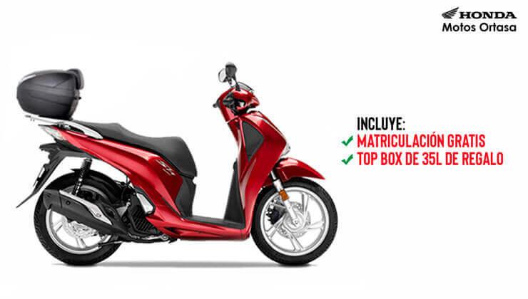 Oferta Honda SH125i mejor precio Bilbao