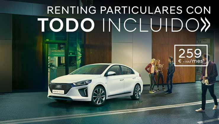 Renting para particulares Hyundai Ioniq