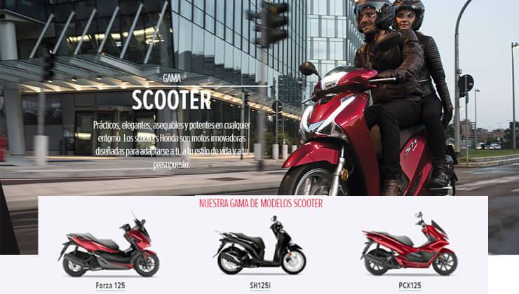 Comprar Scooter en Bizkaia