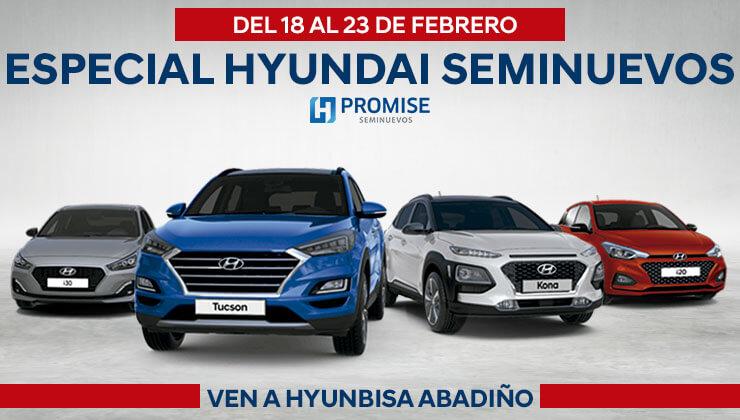 Especial Hyundai Seminuevos Hyunbisa Abadiño coche segunda mano