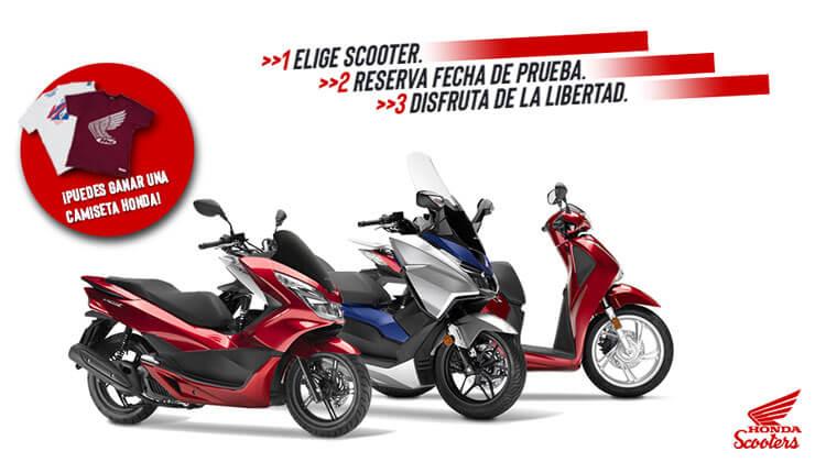 Jornadas Prueba Scooter Honda Bilbao Motos Ortasa