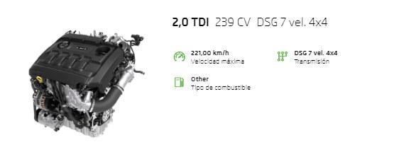 Motor Skoda RS