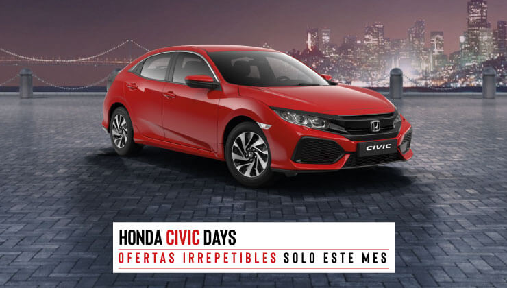 Plan Renove Honda Civic Days 2019
