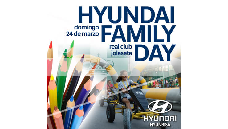 Invitación Hyundai Family Day