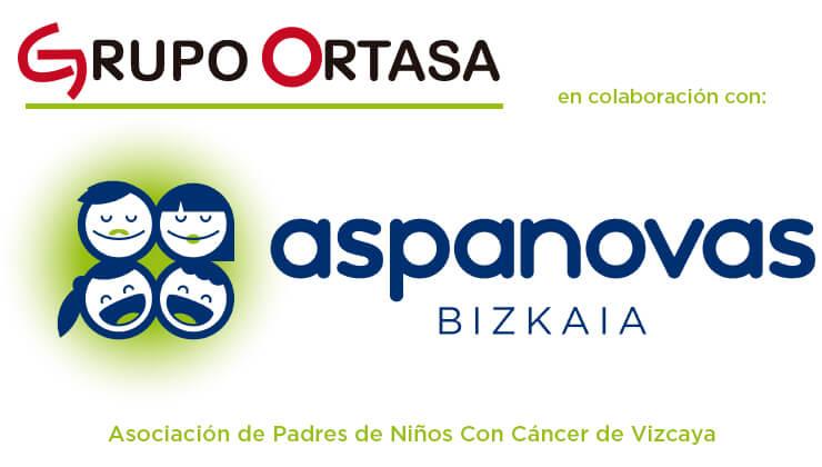 Colaboración ASPANOVAS y Grupo Ortasa