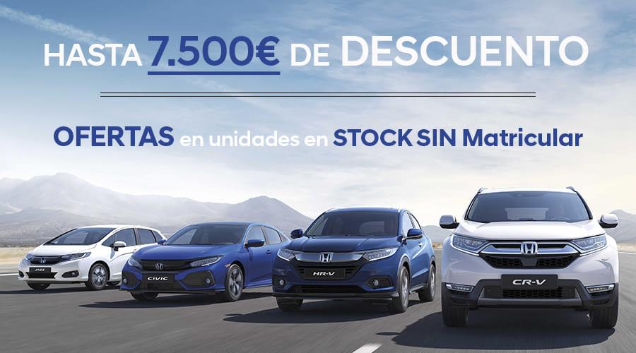 Ofertas Honda por cambio en Normativa de Emisiones WLTP 2019
