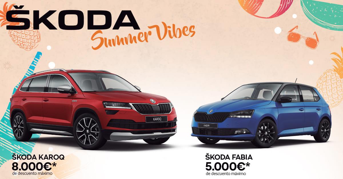 Ofertas Škoda Summer Vibes 2019