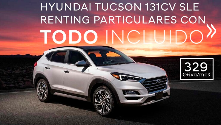 Hyundai Tucson renting particulares Bizkaia