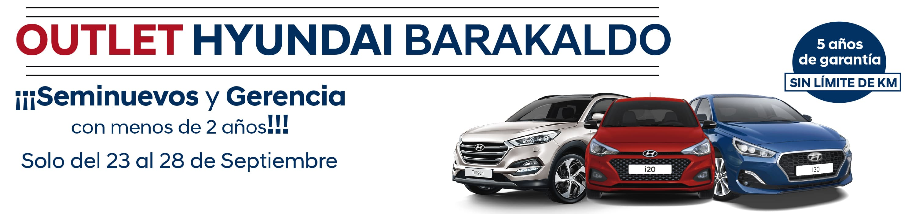 Oferta Outlet Hyundai Barakaldo