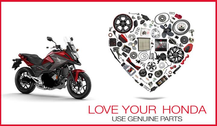 Oferta recambios y taller Honda motos